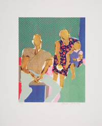 """Phoebe Beasley (American, b. 1943) The Langston Hughes Suite, 1998 Screenprints in colors on Arches """"88"""" paper..."""