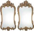 Furniture, A Pair of French Giltwood Mirrors, 19th century. 60 x 33 x 4 inches (152.4 x 83.8 x 10.2 cm). ... (Total: 2 Items)