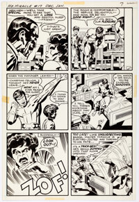 Jack Kirby and Mike Royer Mister Miracle #17 Story Page 5 Original Art (DC, 1974)