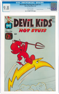 Devil Kids Starring Hot Stuff #17 File Copy (Harvey, 1965) CGC NM/MT 9.8 Off-white pages