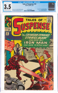 Tales of Suspense #52 (Marvel, 1964) CGC VG- 3.5 Off-white to white pages