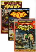 Bronze Age (1970-1979):Horror, Tomb of Dracula #1-9 Group (Marvel, 1972-73) Condition: AverageFN.... (Total: 9 Comic Books)