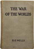 Books:First Editions, H. G. Wells. The War of the Worlds. London: Heinemann,1898....