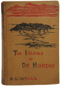 Books:First Editions, H. G. Wells. The Island of Dr. Moreau. London:William Heinemann, 1896....