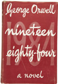 Books:First Editions, George Orwell. Nineteen Eighty-Four [1984]....