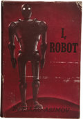 Books:First Editions, Isaac Asimov. I, Robot. New York: Gnome Press, Inc.,1950....