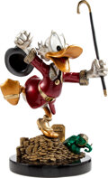 """Memorabilia:Miscellaneous, Carl Barks """"Hands Off My Playthings!"""" Uncle Scrooge Limited Edition Bronze Statue #21/176 (Walt Disney, 1997)...."""