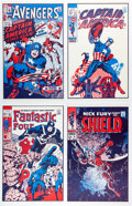 Memorabilia:Comic-Related, Jack Kirby and Others FOOM Poster Set of 12 (Marvel, 1974).... (Total: 12 Items)