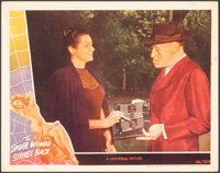 """The Spider Woman Strikes Back (Universal, 1946). Very Fine-. Lobby Card (11"""" X 14""""). Horror"""