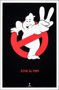 """Movie Posters:Comedy, Ghostbusters II (Columbia, 1989). Rolled, Very Fine. One Sheet (27"""" X 41"""") SS Teaser. Comedy.. ..."""
