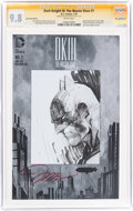 Dark Knight III: The Master Race #1 Jim Lee 5K Edition - Signature Series: Jim Lee (DC, 2016) CGC NM/MT 9.8 White pages...