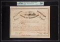 Confederate Notes:Group Lots, Ball 287 Cr. 141E $100 1864 Four Per Cent Registered Bond PMG Very Fine 30.. ...