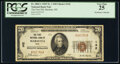 Marietta, OH - $20 1929 Ty. 1 The First National Bank Ch. # 142 PCGS Very Fine 25