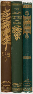 Books:Americana & American History, Andrew S. Fuller. Group of Three Titles on Botanical Cultivation. New York: Various publishers, 1866-1905.... (Total: 3 Items)