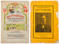 Books:Americana & American History, John E. Pitzer; L. W. Minnigh. Pair of Gettysburg Pamphlets. Gettysburg: Various publishers, no date-1924.... (Total: 2 Items)
