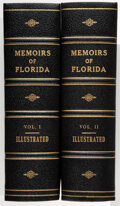 Books:Americana & American History, Rowland H. Rerick. Memoirs of Florida. Embracing a general history of the Province, Territory, and State... Atla... (Total: 2 Items)