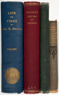 Books:Americana & American History, John C. Butler; et al. Group of Four Books on Georgia History. Various places: Various publishers, 1879-1932.... (Total: 4 Items)