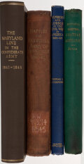 Books:Americana & American History, Charles C. Jones; et al. Group of Four Books on Civil War Military Organization and Battles. Various Places: Various publish... (Total: 4 Items)