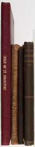 Books:Americana & American History, Rufus K. Sewell; et al. Group of Four Books about St. Augustine, Florida. New York; etc.: Various publishers, 1848-1909.... (Total: 4 Items)