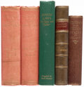 Books:Americana & American History, Jean-Baptiste Say; et al. Group of Five Law and History Books. Various places: Various publisher's, 1845-1950.... (Total: 5 Items)