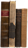 Books:Americana & American History, Robert Walsh; et al. Group of Four Books Related to the History of Slavery. Various places: Various publishers, 1819-1872.... (Total: 4 Items)