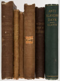 Books:Americana & American History, James Freeman Clarke, et al. Group of Six Books Related to the History of Slavery. New York, etc.: Various publishers, 1838-... (Total: 6 Items)
