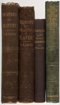 Books:Americana & American History, David Brown; et al. Group of Four Books Related to the History of Slavery. Various places: Various publishers, 1853-1892.... (Total: 4 Items)