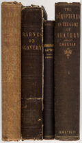 Books:Americana & American History, George B. Cheever. Group of Four Books Related to the History of Slavery. Various places: Various publishers, 1846-1886.... (Total: 4 Items)