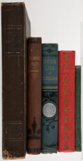 Books:Americana & American History, Daniel G. Brinton; et al. Group of Five Books about Florida in the 19th century. Various places: Various publishers, 1869-19... (Total: 5 Items)