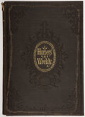 Books:Periodicals, Harper's Weekly, Volume XII. New York: Harper and Bros., 1868. Reissue....