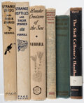 Books:Natural History Books & Prints, A. Hyatt Verrill. Group of Six Natural History Texts. New York & Boston: Various publishers, 1922-1950.... (Total: 6 Items)