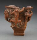 Carvings, A Chinese Bamboo Chilong ...