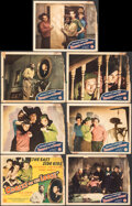 """Movie Posters:Comedy, Ghosts on the Loose (Monogram, 1943). Good-. Title Lobby Card & Lobby Cards (6) (11"""" X 14""""). Comedy.. ... (Total: 7 Items)"""
