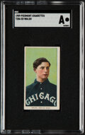 Baseball Cards:Singles (Pre-1930), 1909-11 T206 Piedmont 150 Ed Walsh SGC Authentic....