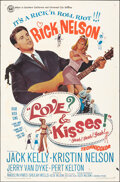 """Movie Posters:Rock and Roll, Love and Kisses (Universal, 1965). Folded, Fine. One Sheet (27"""" X 41""""). Rock and Roll.. ..."""
