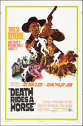 """Movie Posters:Western, Death Rides a Horse & Other Lot (United Artists, 1968). Folded, Fine/Very Fine. One Sheets (2) (27"""" X 41"""") Jack Thurston Art... (Total: 2 Items)"""