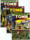 Bronze Age (1970-1979):Horror, Tomb of Darkness #9 and 10-15 Group (Marvel, 1974-75) Condition:Average VF-.... (Total: 7 Comic Books)