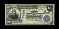National Bank Notes:West Virginia, Keyser, WV - $10 1902 Date Back Fr. 616 The First NB Ch. # (S)6205....