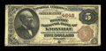 National Bank Notes:Tennessee, Knoxville, TN - $5 1882 Brown Back Fr. 472 The Holston NB Ch. #4648. ...