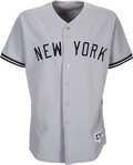 Baseball Collectibles:Uniforms, 2006 Robinson Cano Game Worn & Signed New York Yankees Jersey Used on 4/21 vs. the Orioles -- MLB Authentication....