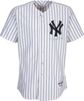 Baseball Collectibles:Uniforms, 2006 Johnny Damon Game Worn New York Yankees Jersey Photo Matched to 4/13 vs. the Royals -- First Home Run as a Yankee!...
