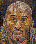 Basketball Collectibles:Others, 2021 Kobe Bryant Original Painting by Giovanni DeCunto with 1/1 NFT....