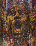 Basketball Collectibles:Others, 2021 Michael Jordan Original Painting by Giovanni DeCunto with 1/1 NFT....