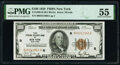 Small Size:Federal Reserve Bank Notes, Fr. 1890-B $100 1929 Federal Reserve Bank Note. PMG About Uncirculated 55.. ...