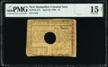 Colonial Notes:New Hampshire, New Hampshire April 29, 1780 $1 PMG Choice Fine 15 Net, hole cancelled.. ...