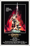 """Movie Posters:Action, Conan the Barbarian (Universal, 1982). Rolled, Very Fine-. One Sheet (27"""" X 41"""") Advance, Renato Casaro Artwork. Action.. ..."""