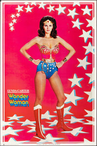 Lynda Carter as Wonder Woman & Other Lot (Thought Factory, 1977). Rolled, Fine/Very Fine. Personality Posters (2) (2...