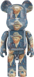Collectible, BE@RBRICK X Van Gogh Museum. Self-Portrait with Grey Felt Hat 1000%, 2020. Painted cast resin. 27-1/2 x 14 x 9 inches (6...