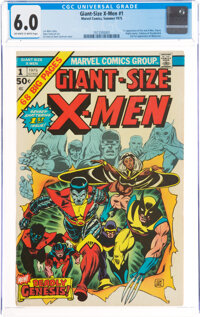 Giant-Size X-Men #1 (Marvel, 1975) CGC FN 6.0 Off-white to white pages