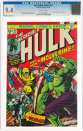 Bronze Age (1970-1979):Superhero, The Incredible Hulk #181 (Marvel, 1974) CGC NM 9.4 Off-white pages....